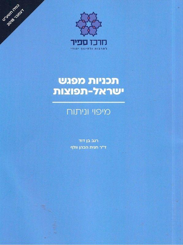 תכניות מפגש ישראל-תפוצות : מיפוי וניתוח