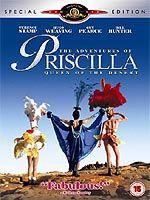 פרסילה מלכת המדבר(DVD)